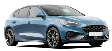Ford Focus ST 2019 on