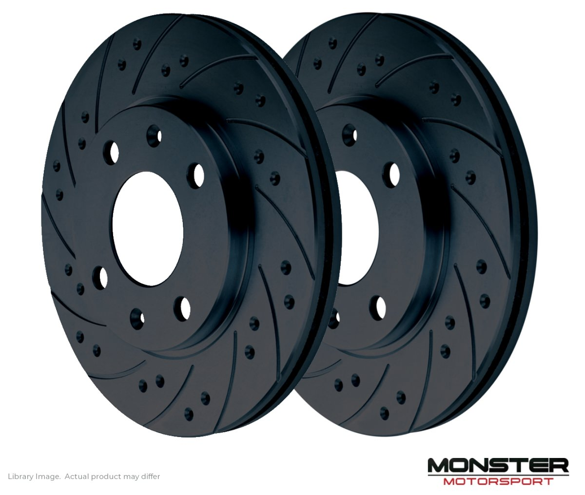 MR2 00-1.8 VVT-i ZZW30 Drilled /& Grooved Rear Brake Discs