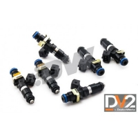 Deatschwerks 16MX-14-1200-6 - Toyota Supra (93-02) - 1200CC INJECTOR SET, JZA80 WITH 14MM TOP FEED CONVERSION