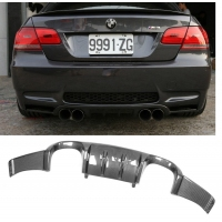 M2 MOTORSPORT M2-BME92M3HM22R - BMW E90-E92-E93 M3 (08-13) - Rear Carbon Fibre Diffuser ARKYM STYLE