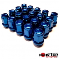 Titan Subaru WRX & STI Wheels Nuts Blue Set of 20