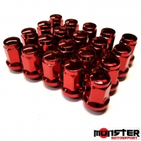 Titan Subaru WRX & STI Wheels Nuts Red Set of 20