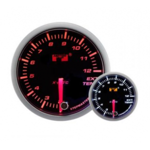 52mm/60mm Smoked Stepper Motor (Warning) - Exhaust Gas Temp Gauge