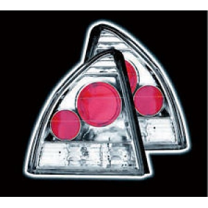 AutoArt Styling (HO18L69) - HONDA PRELUDE (92-96) 2DR CHROME LEXUS TAIL LIGHTS (NOT E MARKED)