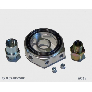 Blitz 19236 - Various Fitments - Oil Sensor Attachment Plate - Type A - 65mm