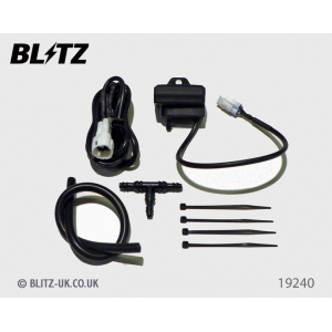 Blitz 19240 - Various Fitments - Boost Sensor for FATT Advance Turbo Timer & SD Boost Gauges