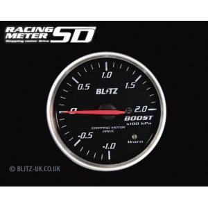 Blitz 19561 - Various Fitments - Racing Meter SD - Boost Gauge - 60mm