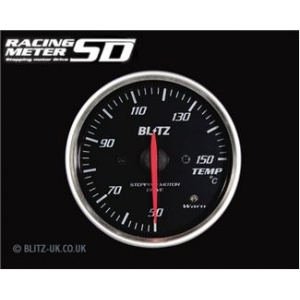 Blitz 19563 Racing Meter SD Temperature Gauge - 60mm