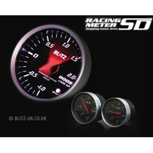 Blitz 19565 - Various Fitments - Racing Meter SD - Exhaust Temp Gauge - 60mm