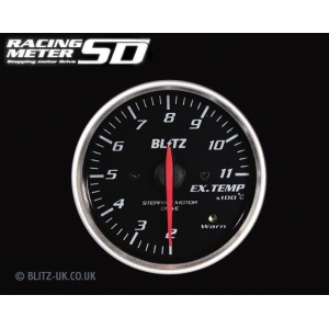 Blitz 19575 - Various Fitments - Racing Meter SD - Exhaust Temp Gauge - 52mm