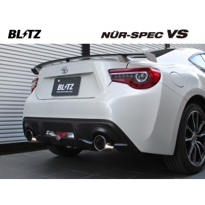 Blitz 62095 - Various Fitments (12-on) - Nur Spec VS - Stainless Exhaust System