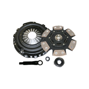Competition Clutch 16085-1620 - Toyota Supra (2JZGE, 7MGE W58 trans) - PERFORMANCE CLUTCH KIT - SCC Stage 4 - 6 Pad Ceramic