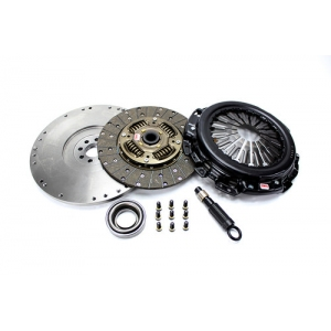 "Competition Clutch 60443-G4 - Nissan Pulsar SR20DET (5 speed) - ""White Bunny"" Kit - 250mm 6 Puck Disc w/ Flywheel"