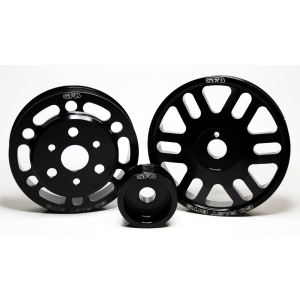 Go Fast Bits GFB 2016 - SUBARU BRZ (12-on) - Lightweight Pulley Kit or Lightened Underdrive Pulleys