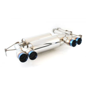 M2 MOTORSPORT M2-BME46M399-CR - BMW E46 M3 - Rear Muffler with Titanium Tips