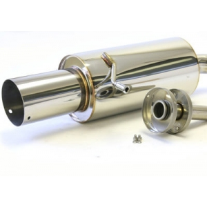 M2 Motorsport Performance Rear Silencer - Impreza 1993-2000 Classic M2-BSB-9501P