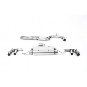 Milltek Sport 80mm Non-Resonated Cat-Back Exhaust System for Audi RS3 8V Sportback 400PS (Facelift) Non GPF OPF Models
