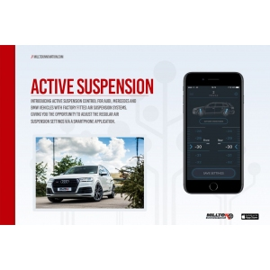 Milltek Sport Active Suspension Control for Pre-Facelift Models Only for Audi RS7 4.0 V8 TFSI Bi-Turbo Sportback (Inc Performance Edition)