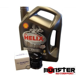 Minor Service Pack - Shell Helix & Oil Filter