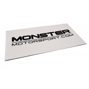 Monster Motorsport Window Sticker - Various Colours & Sizes