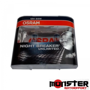 Osram H4 Night Breaker Unlimited Bulb (pair)