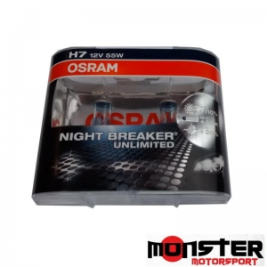 Osram H7 Night Breaker Unlimited Bulb (pair)