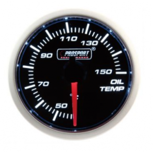Prosport 52mm (Air Code) Oil Temperature Gauge