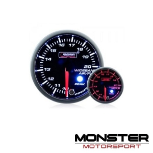 Prosport 52mm Premium Stepper Air Fuel Ratio Gauge