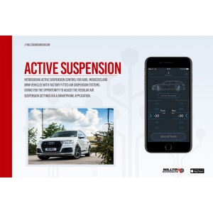 Milltek Sport Audi Q7 3.0TDI (218 & 272PS) 4M 2016 to 2022 Active Suspension Control SSXAU669
