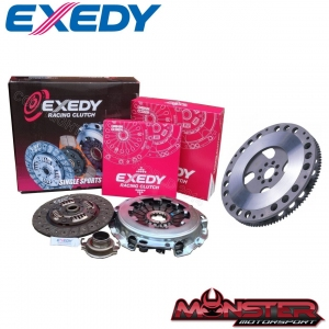 STI PACKAGE - Exedy STI Stage 1 Organic Clutch Kit and Flywheel Package (2001-2007 STI 6 Speed Models)