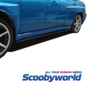 Scoobyworld - Subaru Impreza 01-07 New Age Side Skirt Runners/Extensions