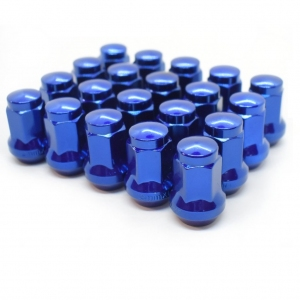 Titan 17mm Wheel Nuts - Blue M12 x 1.25 and 1.5mm thread choices