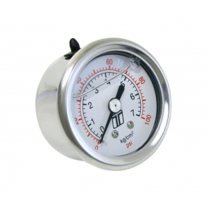 Turbosmart TS-0402-2023 - FPR Gauge 0-100psi - Liquid Filled