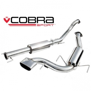 "Vauxhall Astra H VXR (05-11) 2.5"" Cat Back Performance Exhaust"
