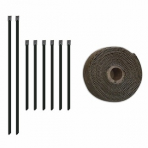 Wrap for Exhaust - Mishimoto MMTW-235 - All Fitments - Exhaust Heat Wrap Set