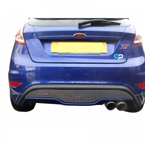 Zunsport ZFR55413 - Rear Grille Set Silver Finish for FORD FIESTA ST MK 7.5
