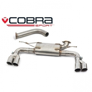 BMW F32 & F33 (420D 2013-15) Cobra Quad Exit Rear Exhaust BM112YTP19-22