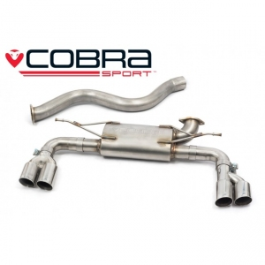 BMW F32 & F36 (435D 2013-on) Cobra Quad Exit Rear Exhaust BM105YTP19-22