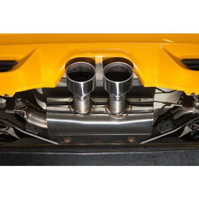 "Cobra Sport FD45 3"" Cat Back Exhaust (Resonated) - Ford Focus ST 250 (Mk3) (12-on)_4"