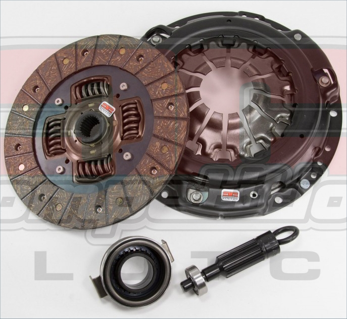 Competition Clutch 10045-2100 - Mazda MX5 1.8L BP, B6 1.6L - Stage 2 Sprung Steelback Brass Plus_1