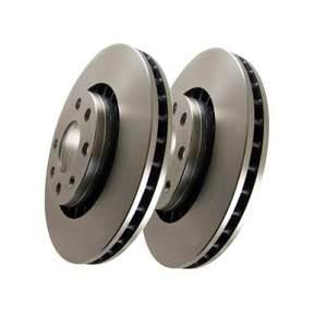 EBC Plain High Quality Rear Brake Discs STI 2004-2007 widetrack - D1345