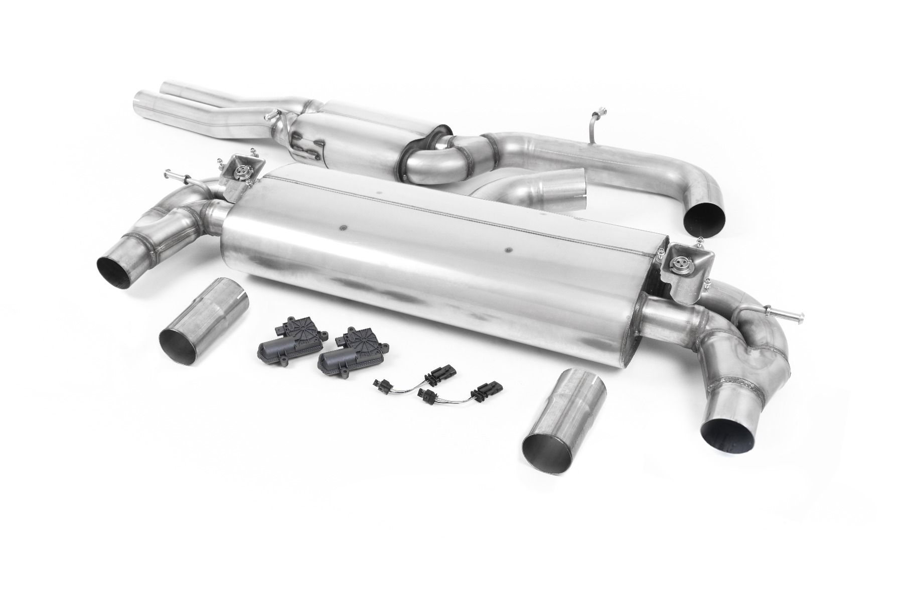 Milltek Sport Resonated Cat-Back Exhaust System for Audi RS3 Saloon | Sedan 400PS (OPF GPF Models Only)_1