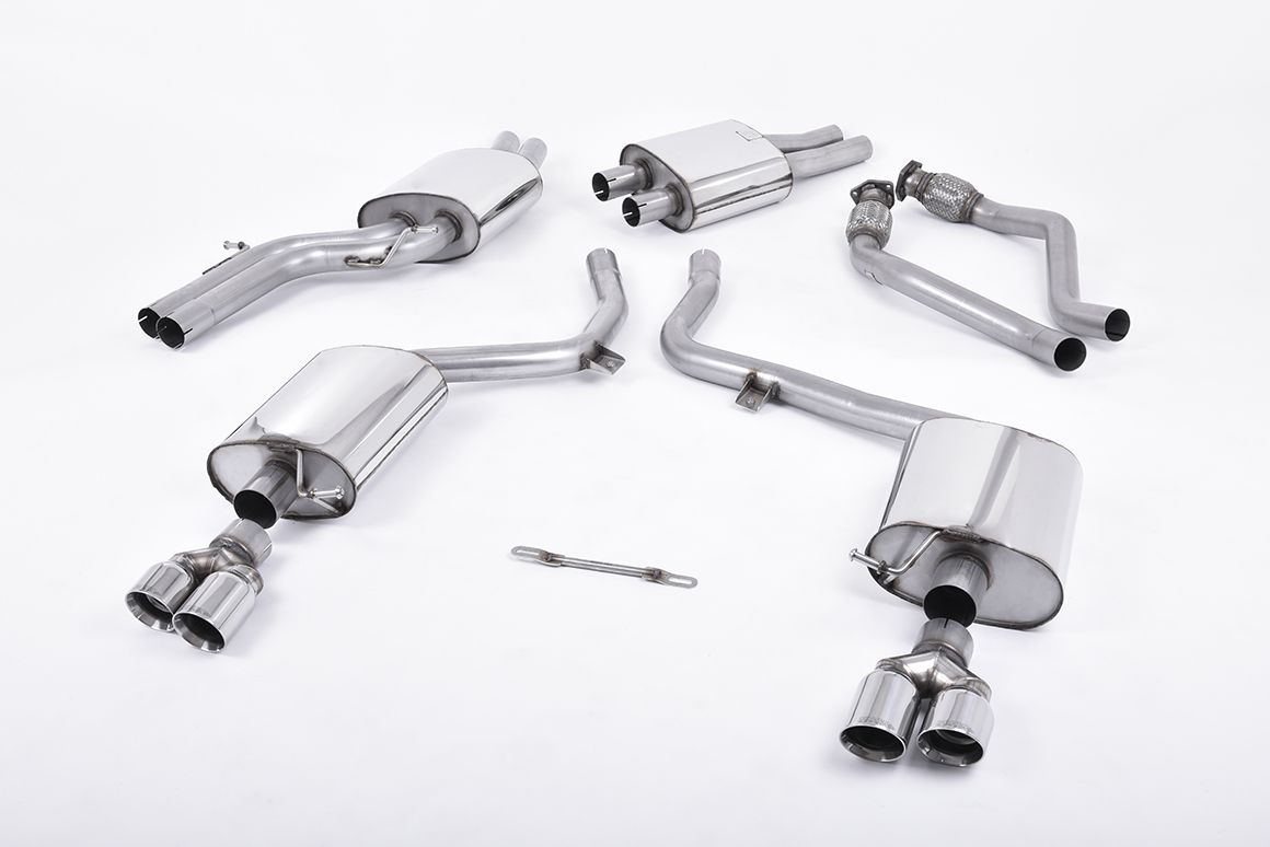 Milltek Sport Resonated Cat-Back Exhaust System for Audi S5 3.0 TFSI Coupé & Cabriolet (S tronic)_1