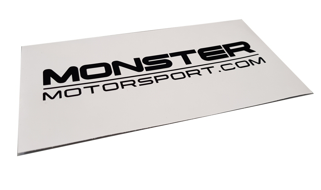 Monster Motorsport Window Sticker - Various Colours & Sizes_1
