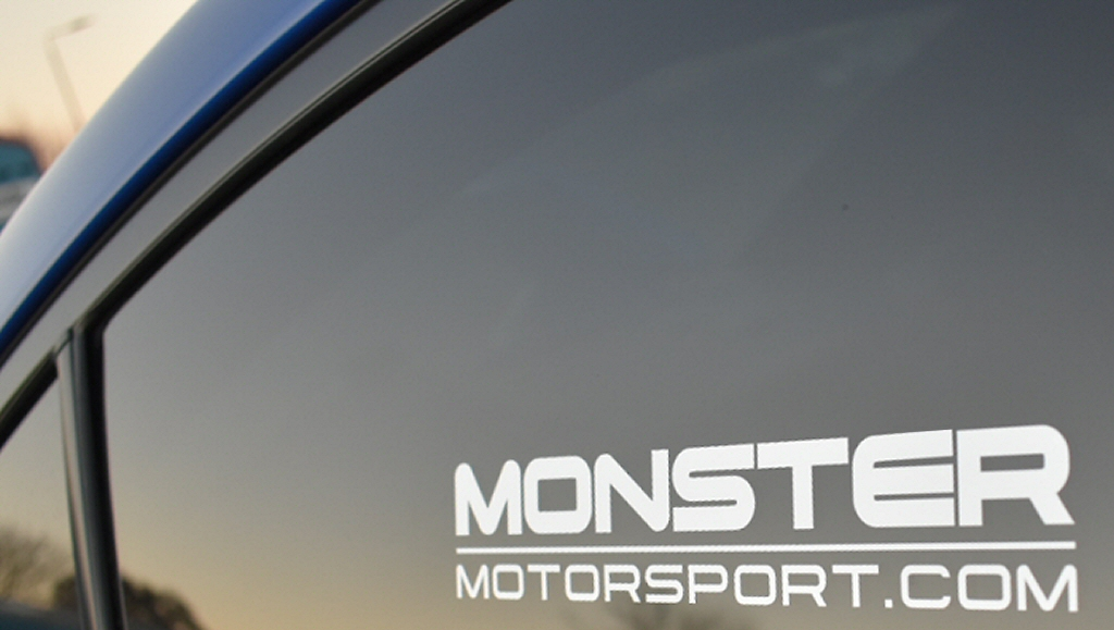 Monster Motorsport Window Sticker - Various Colours & Sizes_2
