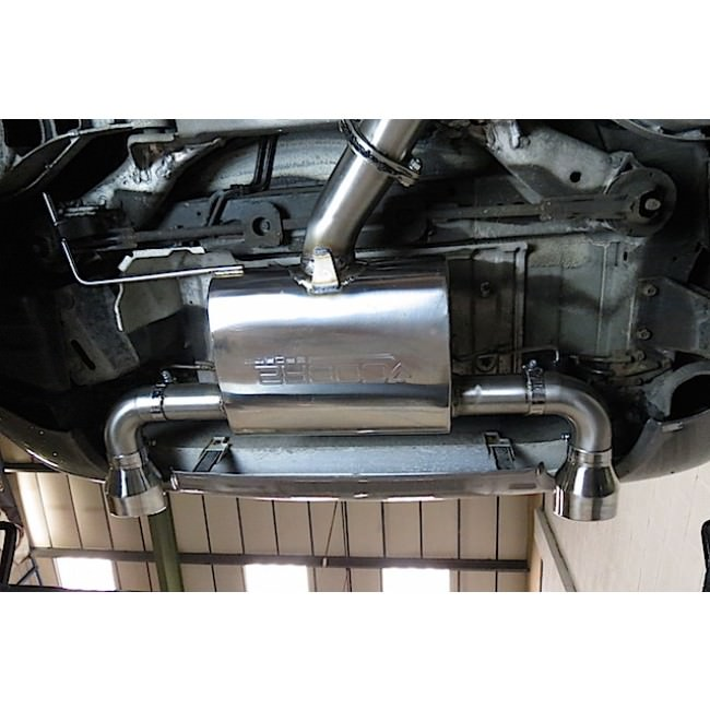 Cobra Sport Exhaust Nissan 350Z (03-09) Centre & Rear Exhausts (Non-Resonated) NZ01_2