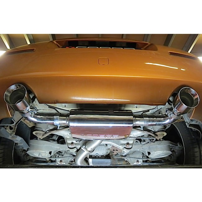 Cobra Exhaust Nissan 350Z (03-09) Centre & Rear Exhausts (Non-Resonated) NZ01_3
