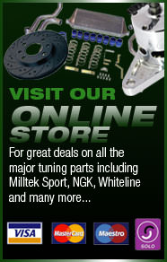 Visit Monster Motorsport's online shop - for all your servicing, repair and performance needs