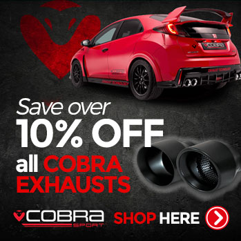 Cobra Exhausts for Ford Focus RS, ST, Mazda MX5 and more