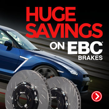 EBC Brake Pads and Discs for Ford Focus RS, ST, Mazda MX5 and mo